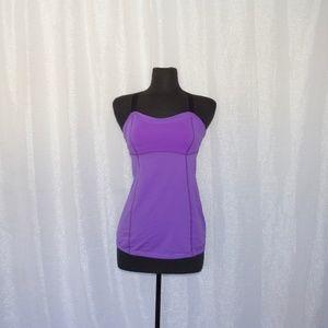 Lululemon Purple Tank Top Size 8